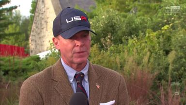 Stricker to give Tiger message to team