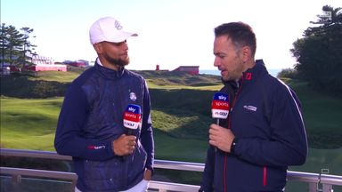 Curry: How the Ryder Cup compares to NBA