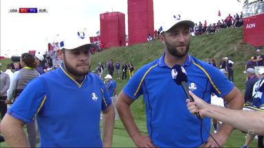 Rahm: Feels good to get the half-point