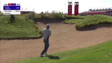 Casey holes out for European eagle!