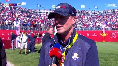 Stricker: USA not thinking about Ryder Cup win