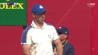 McIlroy leads out Europe in Ryder Cup singles