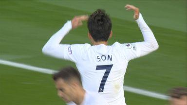 Goal H Son (79) Arsenal 3 - 1 Tottenham