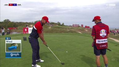 Bryson reassures crowd: 'I'm going for the green!'