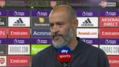 Nuno: Some Spurs players didn't implement plan