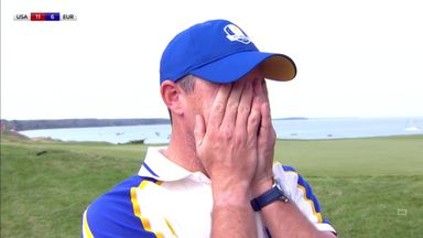 McIlroy in tears after singles victory