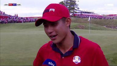 Morikawa proud of 'full team effort'