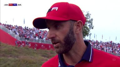 DJ delighted to make Ryder Cup history