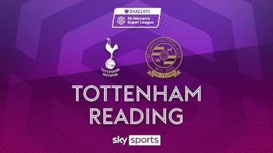 WSL: Tottenham 1-0 Reading