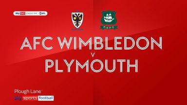 Wimbledon 0-1 Plymouth