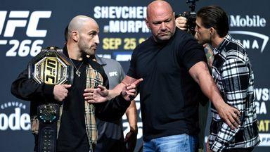 UFC 266 press conference best bits