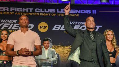 MMA legends Silva, Ortiz ready for boxing bout