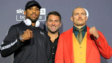 Joshua: I can outbox Usyk
