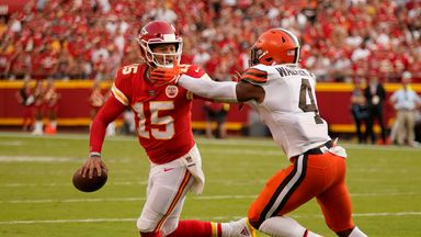 Browns 29-33 Chiefs: Highlights