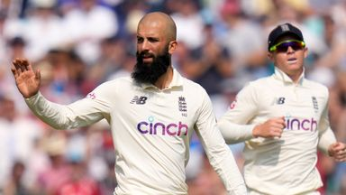 Moeen: I knew my race was run