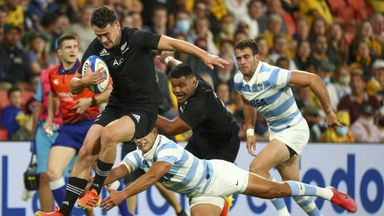 Highlights: Argentina 13-36 New Zealand