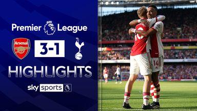 Arsenal first-half display stuns Spurs