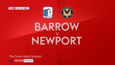 Barrow 2-1 Newport