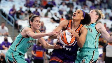 WNBA: Liberty 82-83 Mercury