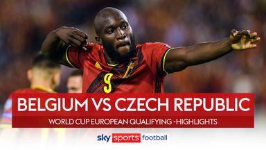 Belgium 3-0 Czech Republic