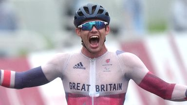 Watson revels the rain to win Paralympic gold