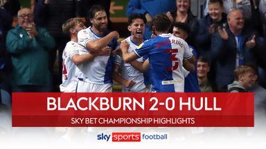 Blackburn 2-0 Hull