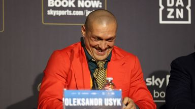 Allan: Usyk is exceptionally good