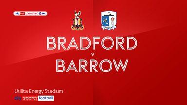 Bradford 1-1 Barrow