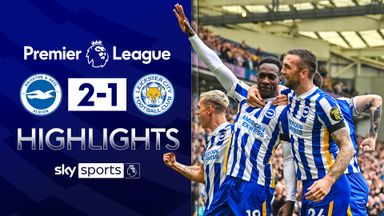 Welbeck goal edges Brighton past Leicester