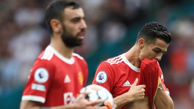 Did Ronaldo's presence affect Fernandes?