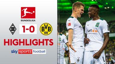 Mönchengladbach 1-0 Dortmund