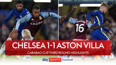 Chelsea 1-1 Aston Villa (4-3 pens)