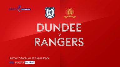 Dundee 0-1 Rangers
