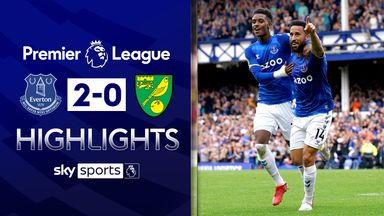 Norwich remain pointless as Everton win