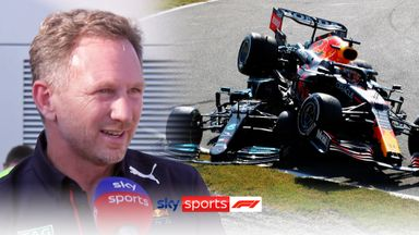 Horner reflects on 'racing incident'