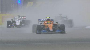 How Norris' race fell apart