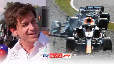 Wolff: Tactical foul from Verstappen