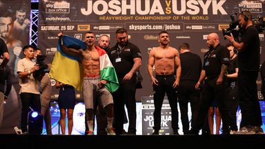 Prodan and Marku fired up at weigh-in