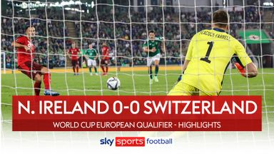Northern Ireland 0-0 Switzerland