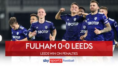 Fulham 0-0 Leeds (5-6 pens)