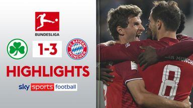 Furth 1-3 Bayern Munich