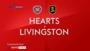 Hearts 3-0 Livingston