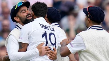 England vs India: Day five highlights