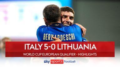 Italy 5-0 Lituania