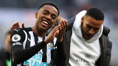 Bruce: Willock, Lascelles out for few weeks