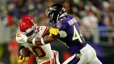 Highlights: Chiefs 35-36 Ravens