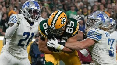 Highlights: Lions 17-35 Packers