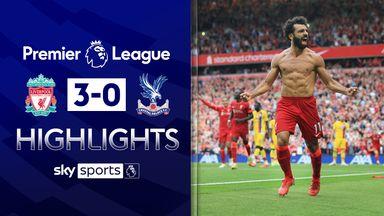 Salah on target as Liverpool beat Palace