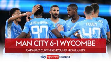 Man City 6-1 Wycombe