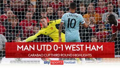 Man Utd 0-1 West Ham